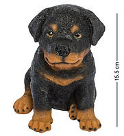 Статуэтка Собака ротвейлер 16 см. Символ 2018 года