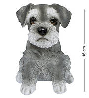 Статуэтка Собака Шнауцера 16 см. Символ 2018 года