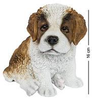 Статуэтка Собачка Сенбернара 16 см. Символ 2018 года