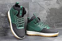 Зимние кроссовки Nike Lunar Force LF1 , зелёные