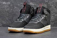 Зимние кроссовки Nike Lunar Force LF1 , серые