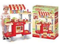 Игровая кухня для детей с кассовым апаратом