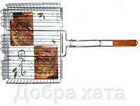 САДКО Решетка для барбекю для сосисок 62х18х8.5х3см