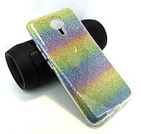 Чехол для Meizu M3 Note накладка бампер противоударный Remax glitter