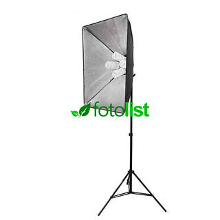 Набор постоянного студийного света с патронами для ламп Arsenal SLH3-5070-4 (без ламп)