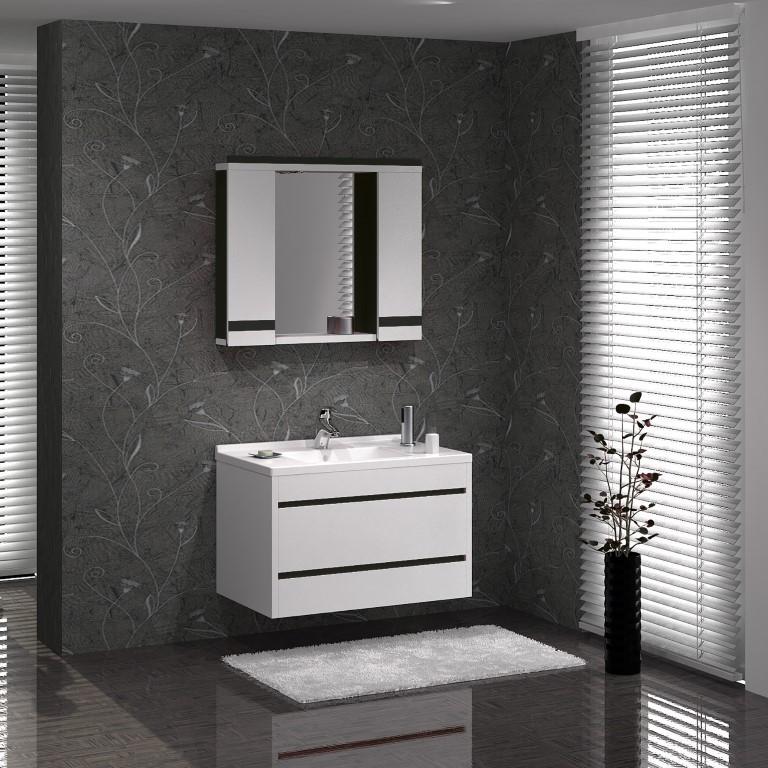 "Комплект мебели для ванной GOLD Ban-Yom ""Viole 85"", 850х450х530 мм"