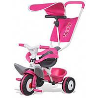 Велосипед трехколесный Baby Balade розовый Smoby 444207 GL