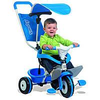 Велосипед трехколесный Baby Balade синий Smoby 444208 GL
