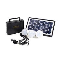 Портативный аккумулятор с солнечной панелью GDLITE GD-8006-A