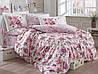 Комплект постельного белья  Hobby поплин размер евро Alessia темно-розовый