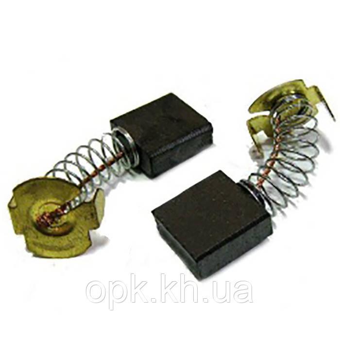 Щетки угольно-графитовые тст-н на электропилы 7*17 мм (контакт: П-образный, комплект - 2 шт)