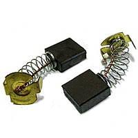 ✅ Щетки угольно-графитовые на электропилы 7*17 мм (контакт: П-образный, комплект - 2 шт)