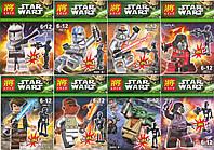 Конструктор Lele серия Star Wart 78014 2в1 (Аналог Lego Star Wars) 8 видов