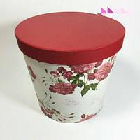 Коробка для цветов ведро роза 3 шт