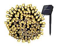 Новогодняя гирлянда 30 LED, IP44, Длина 5,7 М, Белый теплый свет