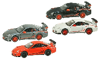 Металлическая модель kinsmart Porsche 911 GT3 RS