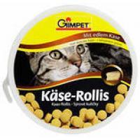 Витаминизированное лакомство с сыром для котов ДжимКет Кис Роллис (Gimpet Kase-Rollis) туба