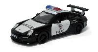 Металлическая модель kinsmart Porsche 911 GT3 RS Полиция