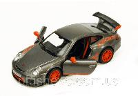 Металлическая модель kinsmart Porsche 911 GT3 RS Серый