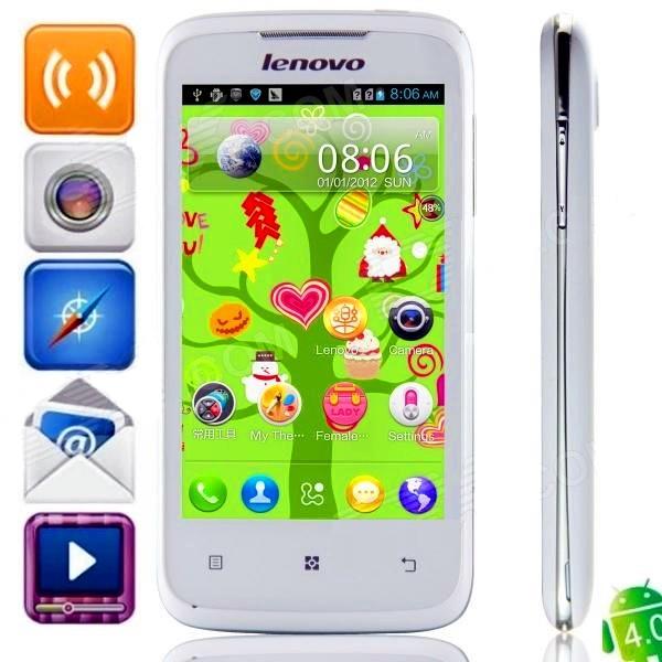 LENOVO A376 2SIM Android 4.0.3 LSD 4 Wi-Fi
