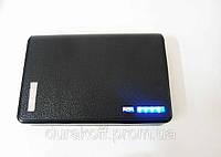 Портативное зарядное устройство PowerBank 12000mAh Black