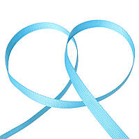 Лента, Голубая, Полиэстер, 9,5 мм