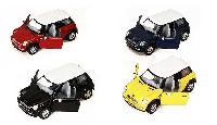 Металлическая модель Kinsmart Mini Cooper S