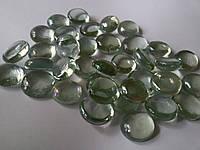 Стеклянные камни Марблс прозрачные, 200 грамм, фото 1