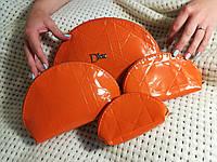 Косметичка  4в1 dior оранжевая