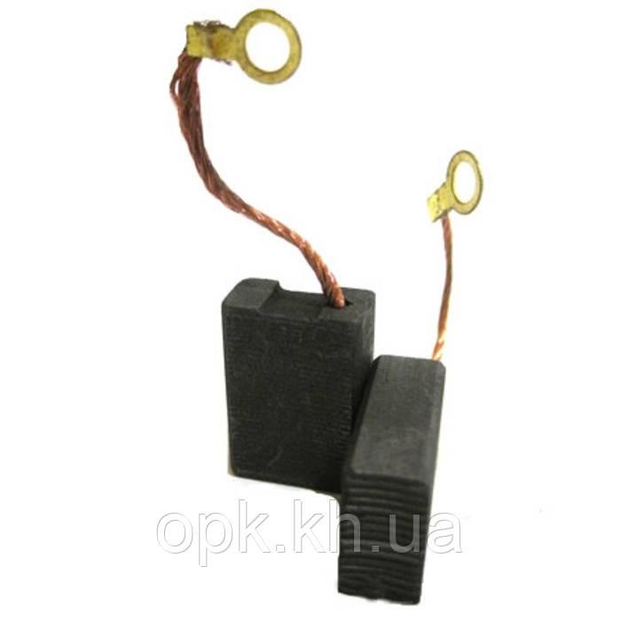 Щетки угольно-графитовые тст-н 8*15 мм (контакт - под болт, комплект - 2 шт)