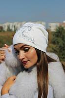 Шапка мод.Мрия (Ангора-17%, Шерсть-45%)