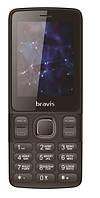Телефон BRAVIS C240 Middle Dual Sim (black)