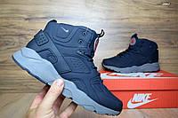 Мужские кроссовки Nike Air Huarache синие