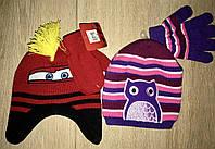 Набор шапочка и перчатки