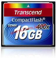 TS16GCF400 16Gb CompactFlash Card 400x (TS16GCF400)