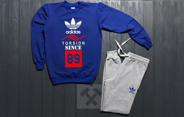 Спортивный костюм Adidas Originals Torsion Since 89 синего цвета