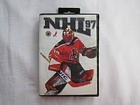 Оригинальный картридж Sega Mega Drive - NHL 97 (в больш. боксе)