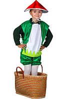 """Детский карнавальный костюм """"Грибочек"""" (33608-1). Универсальный размер 3-6 лет. Велюр. Быстрая доставка."""