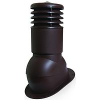 Вентиляционный элемент KBNO 150мм (утепленный)  Металлочерепица c высотой волны до 28мм.