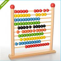 Развивающая Деревянная Игрушка Счеты MD 1103, Счеты 1103 для детей Woody