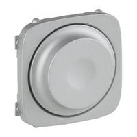 Лицевая панель светорегулятора поворотного, Legrand Valena Allure Алюминий