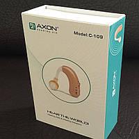 Аккумуляторный слуховой аппарат с зарядным устройством Axon C 109