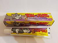 Детская зубная паста Tom & Jerry для детей от 2-6 лет со вкусоь винограда