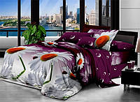 Евро набор постельного белья 200*220 из Полиэстера №157 Черешенка™