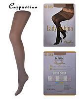 Колготки Lady Sabina 60 den microfibra Cappuccino р.5 (LS60MF) | 5 шт.