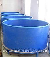Бассейны круглые для рыборазведения объем 2,4 м3 полипропилен