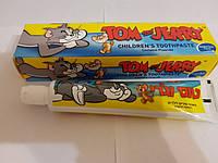 Детская зубная паста Tom & Jerry для детей от 2-6 лет со вкусоь жвачки