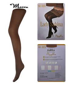 Колготки Lady Sabina 60 den microfibra Mocca р.5 (LS60MF) | 5 шт.