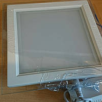 Светодиодная LED панель со стеклом 16W Epistar SG 16