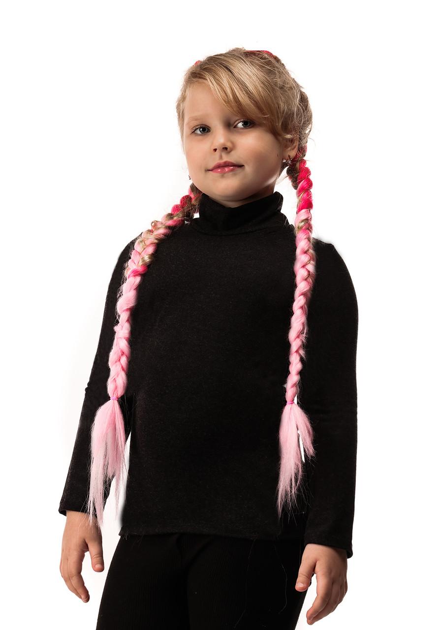 Гольф детский кашемир черный